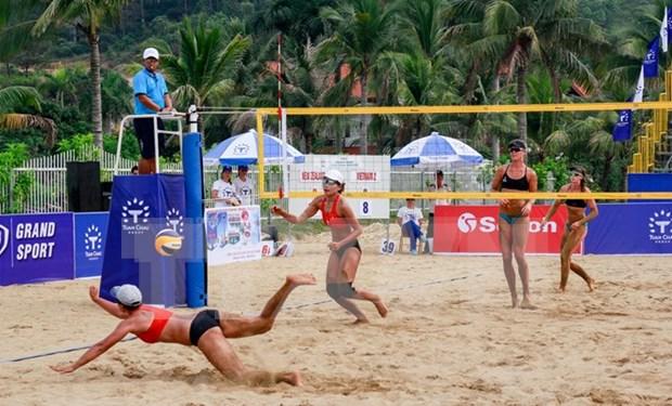 China se corona en Torneo femenino de Voleibol de playa Tuan Chau-Quang Ninh 2017 hinh anh 1