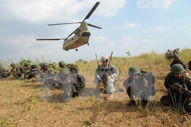 Filipinas y Estados Unidos inician maniobras conjuntas hinh anh 1