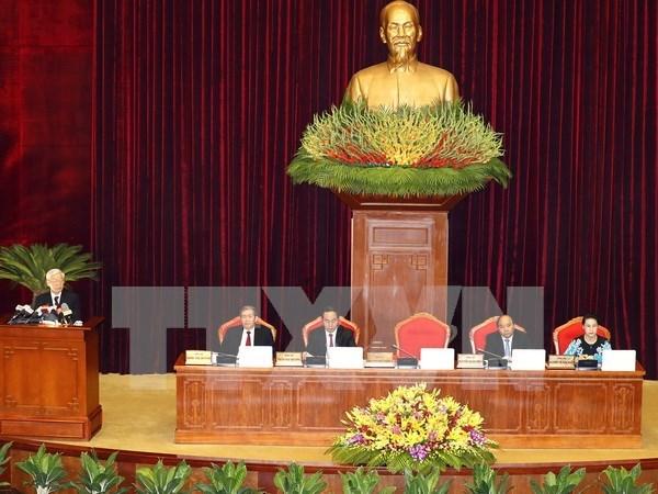 Comite Central del PCV debate sobre mecanismos a favor de economia privada hinh anh 1