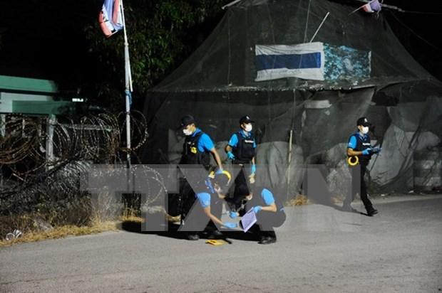 Mas de 40 heridos por doble atentado con bombas en Tailandia hinh anh 1