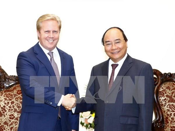 Premier de Vietnam aboga por mayores nexos comerciales con Nueva Zelanda hinh anh 1