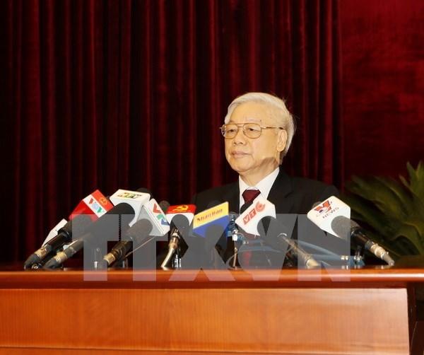 Comite Central del PCV aprueba tres resoluciones sobre economia hinh anh 1