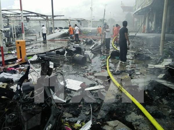 Tailandia niega la participacion de EI en doble ataque con bombas en Pattani hinh anh 1