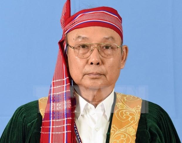 Presidente del Senado de Myanmar inicia su visita a Vietnam hinh anh 1