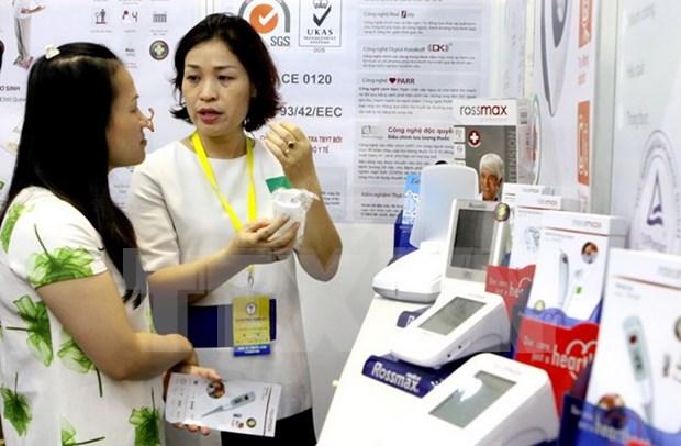 Reportan amplia participacion en Vietnam Medi Pharm 2017 en Hanoi hinh anh 1