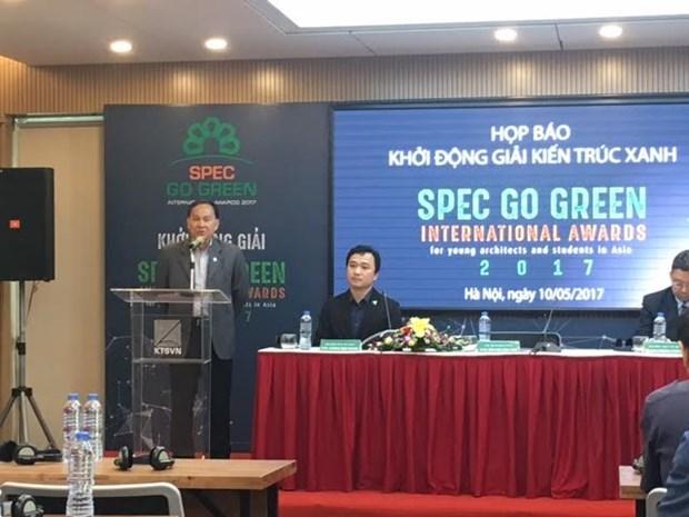 Lanzan en Vietnam concurso de arquitectura verde Spec Go Green hinh anh 1
