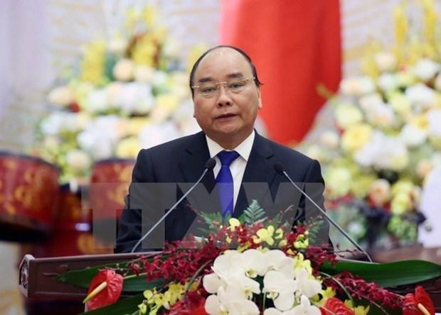 Premier vietnamita asiste al FEM sobre ASEAN hinh anh 1