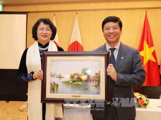 Vicepresidenta asiste a encuentro empresarial Vietnam-Japon hinh anh 1