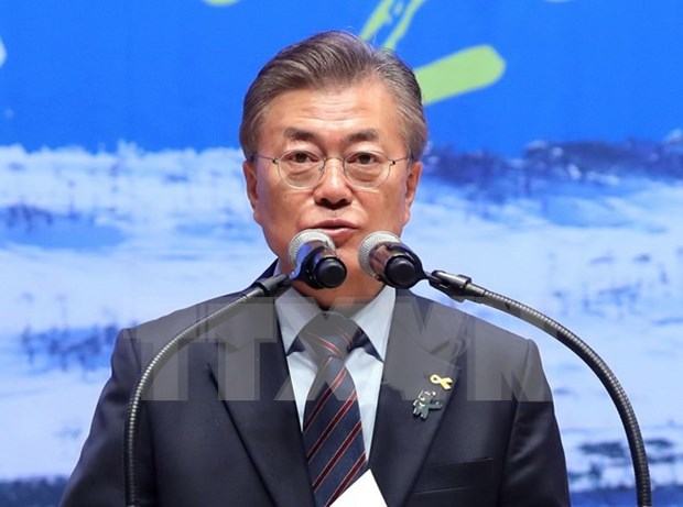 Lider partidista vietnamita felicita a nuevo presidente de Sudcorea hinh anh 1