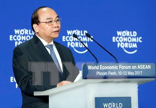 Premier de Vietnam interviene en FEM sobre ASEAN hinh anh 1