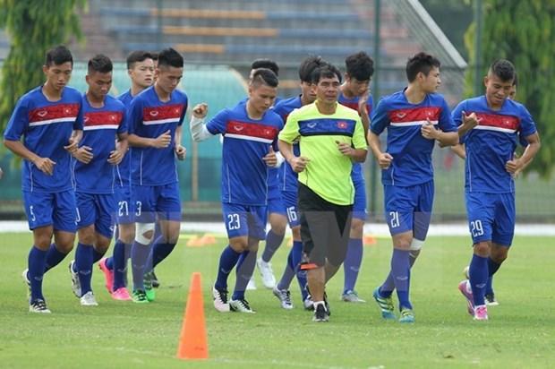 Seleccion futbolistica sub-20 de Vietnam lista para Copa Mundial 2017 hinh anh 1