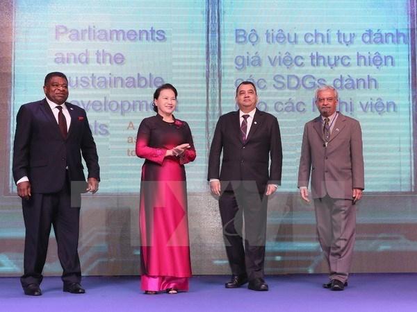 Publican criterios para observancia parlamentaria de objetivos de desarrollo sostenible hinh anh 1