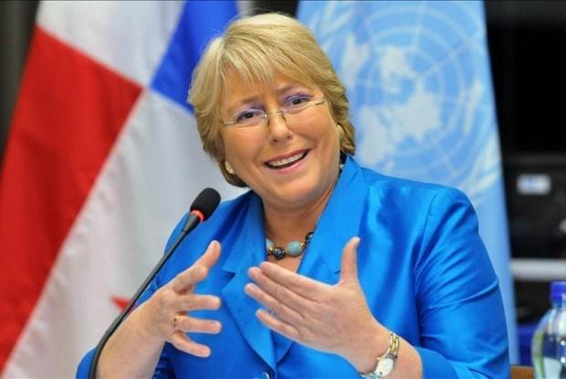 Inicia presidenta de Chile visita oficial a Indonesia hinh anh 1