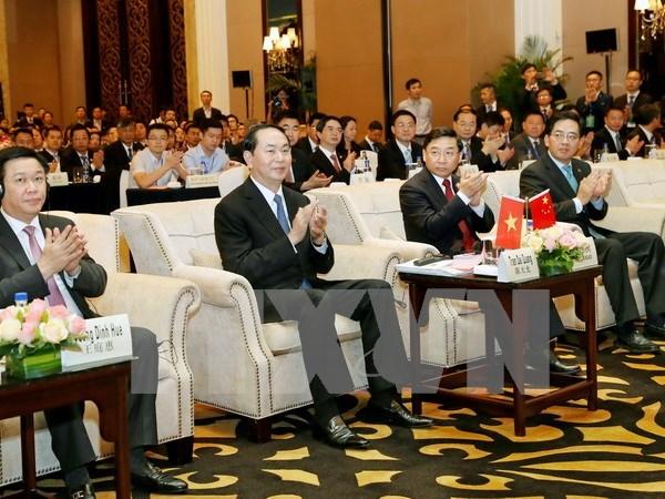 Inauguran en China Foro de Franja y Ruta para la Cooperacion Internacional hinh anh 1