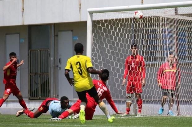 Vietnam empata con Vanuatu en partido de preparacion para Copa Mundial sub 20 de futbol hinh anh 1