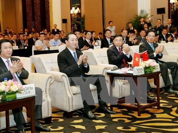 Presidente de Vietnam interviene en Foro de la Franja y la Ruta en China hinh anh 1