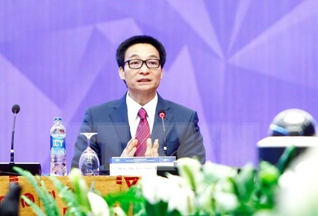 Vicepremier vietnamita: Recursos humanos son el centro del desarrollo en era digital hinh anh 1