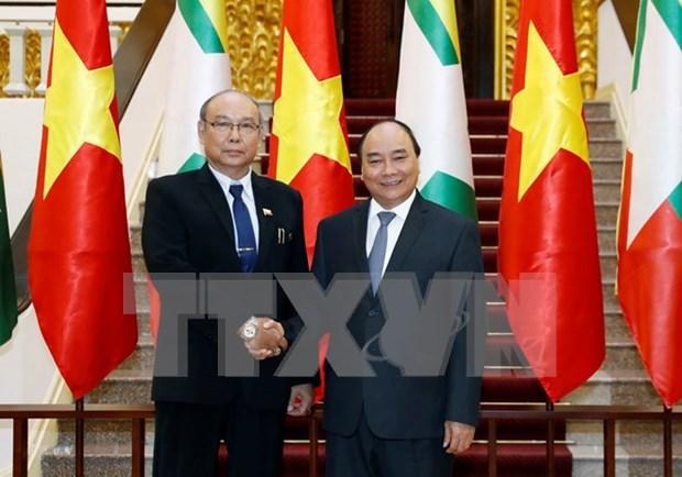 Myanmar pide a empresas vietnamitas incrementar la inversion hinh anh 1