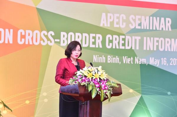 APEC destaca importancia de intercambio de informaciones sobre credito transfronterizo hinh anh 1