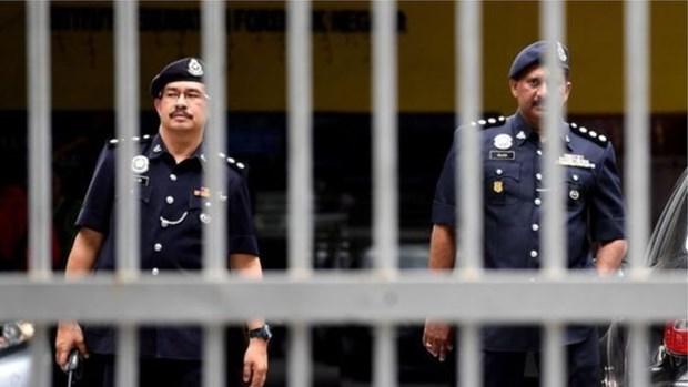 Arrestan en Malasia a policias vinculados con traficantes de drogas hinh anh 1