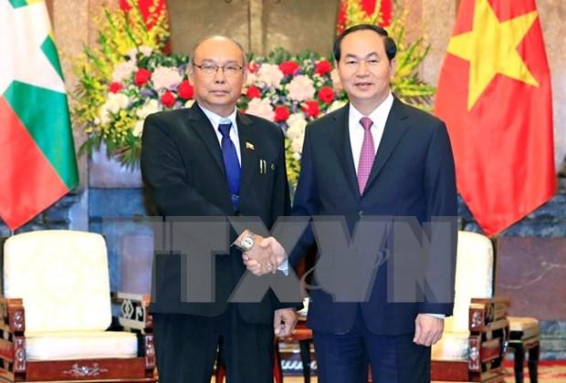 Vietnam y Myanmar impulsan cooperacion por desarrollo mutuo hinh anh 1