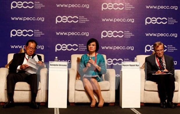 Debaten en Vietnam sobre crecimiento economico y conectividad de Asia-Pacifico hinh anh 1
