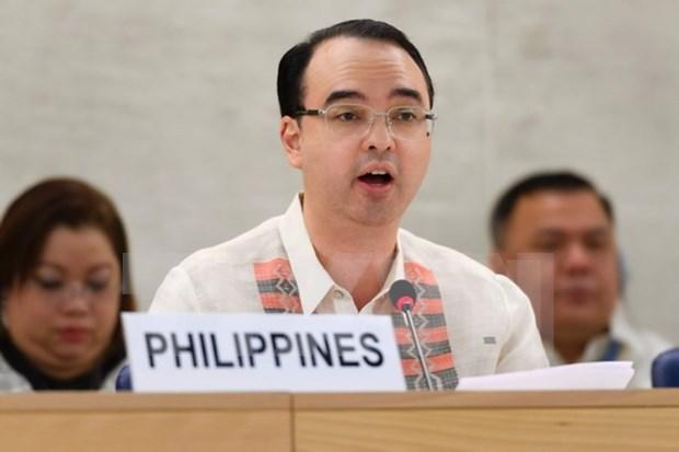 Congreso filipino confirma a Cayetano como secretario de Relaciones Exteriores hinh anh 1