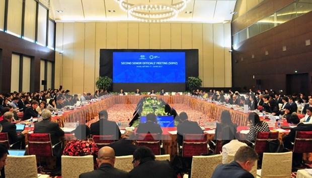 Inauguran en Hanoi segunda conferencia de altos funcionarios del APEC hinh anh 1