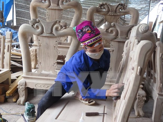 Vietnam y Union Europea firman acuerdo sobre exportacion de madera hinh anh 1