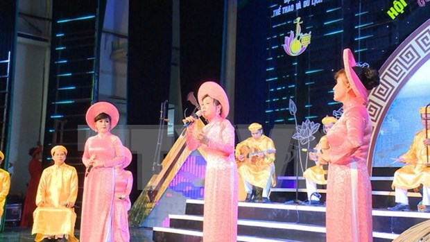 Celebran Festival de Canto de aficionados en Ciudad Ho Chi Minh hinh anh 1