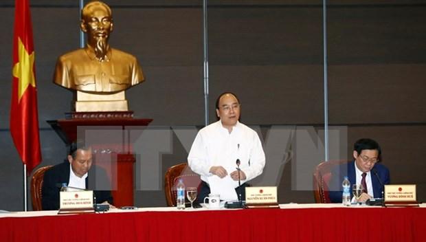 Gobierno vietnamita busca resolver dificultades para empresas hinh anh 1