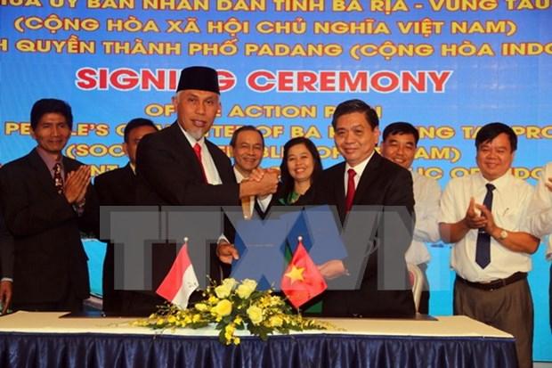 Intensifican cooperacion entre localidades vietnamita e indonesia hinh anh 1