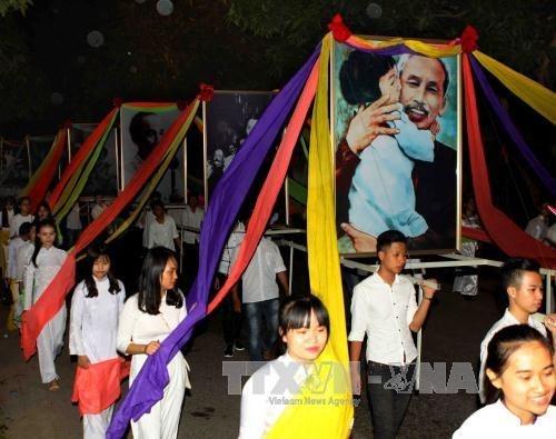 Conmemoran en Vietnam natalicio del Presidente Ho Chi Minh hinh anh 1