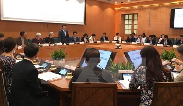 Estados Unidos asiste a Hanoi en construccion de ciudad inteligente hinh anh 1