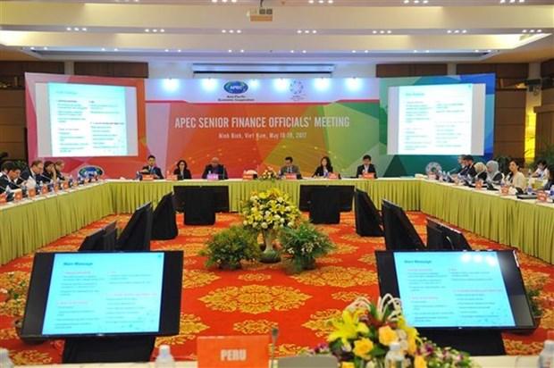 Comienza en Vietnam reunion de Altos Funcionarios de Finanzas del APEC hinh anh 1