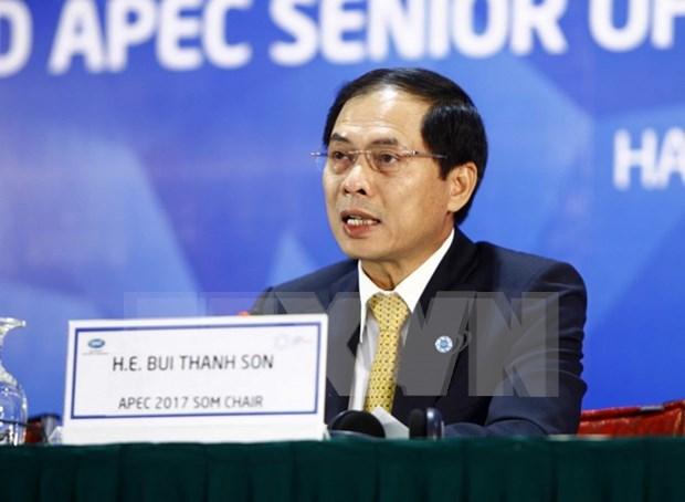 Clausuran en Hanoi segunda reunion de altos funcionarios de APEC hinh anh 1