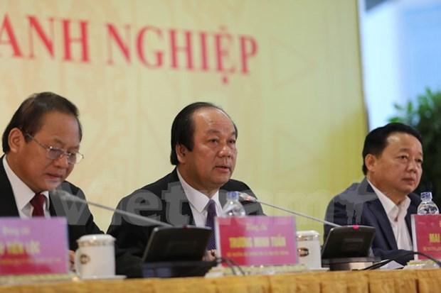 Gobierno vietnamita con alta determinacion de apoyar a comunidad empresarial hinh anh 1