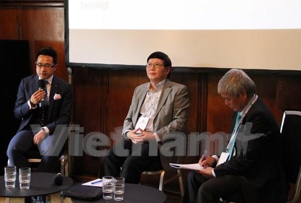 Empresas vietnamitas y alemanas buscan robustecer asociaciones en era digital hinh anh 1