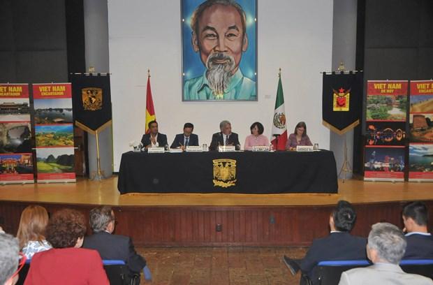 Conmemoran natalicio de Presidente Ho Chi Minh en Mexico hinh anh 3