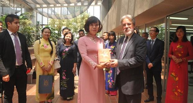 Conmemoran natalicio de Presidente Ho Chi Minh en Mexico hinh anh 2