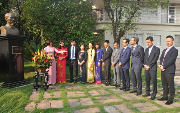 Conmemoran natalicio de Presidente Ho Chi Minh en Mexico hinh anh 1