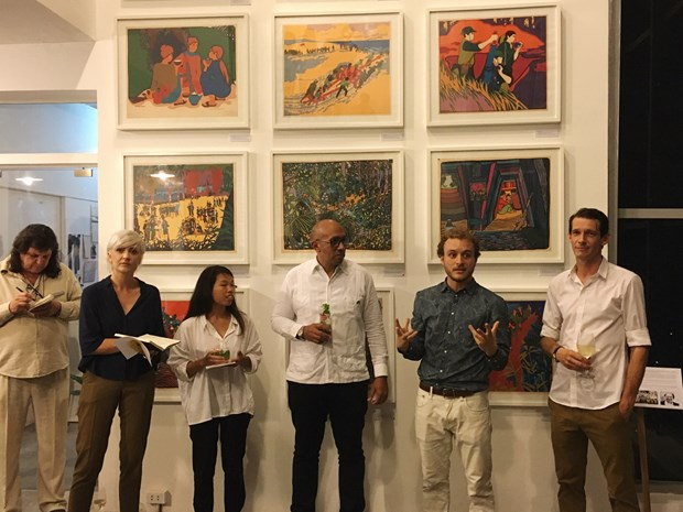 Exposicion de obras graficas resalta amistad Vietnam-Cuba hinh anh 2