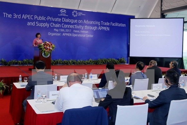 APEC intensifica conexiones entre cadenas de suministros y de valores regionales hinh anh 1