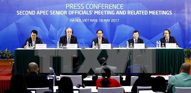 Resaltan papel impulsor de Vietnam de proceso de globalizacion en el APEC hinh anh 1