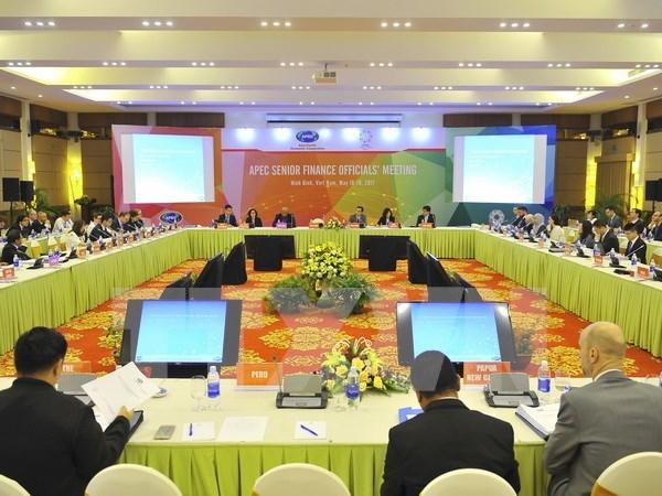 Efectuan reunion de altos funcionarios financieros de APEC hinh anh 1