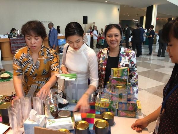 Vietnam participa en Festival de te y cafe en la ONU hinh anh 1