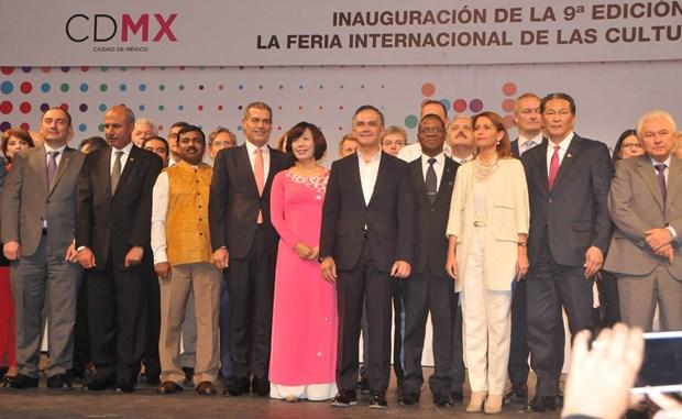 Vietnam participa en la Feria de Culturas Amigas en Mexico hinh anh 1