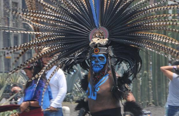 Vietnam participa en la Feria de Culturas Amigas en Mexico hinh anh 5