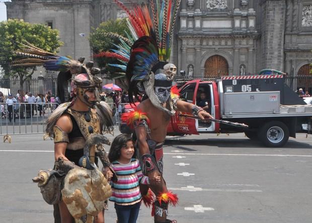Vietnam participa en la Feria de Culturas Amigas en Mexico hinh anh 7
