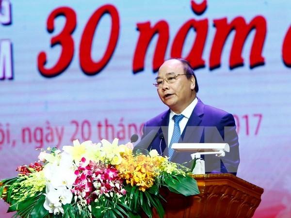 Premier vietnamita insta a promover movimiento de emulacion patriotica hinh anh 1